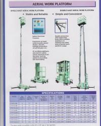 Scissor AWP / Aerial Work Platform Allum