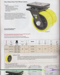 Castor Roda Heavy Duty / Roda Trolley He