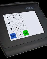 Signature Pad Topaz SigGem Color 5.7 T-LBK57GC BHSB-R