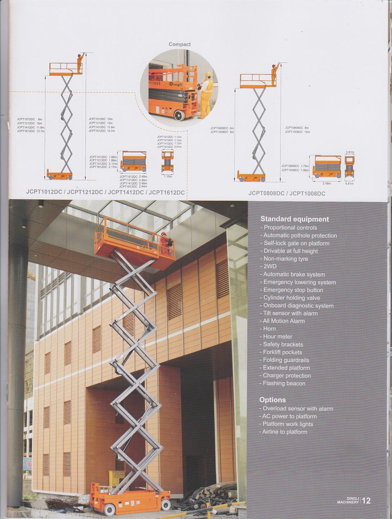 Jual Vertikal Lift /Scissor Lift