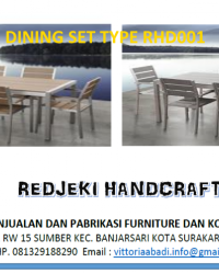 Dinning Set Type RHD001