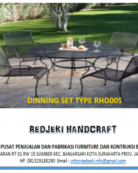 Dinning Set Type RHD005