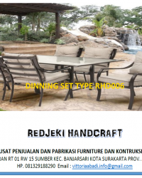 Dinning Set Type RHD006