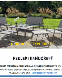 Dinning Set Type RHD008