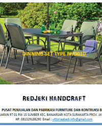 Dinning Set Type RHD010