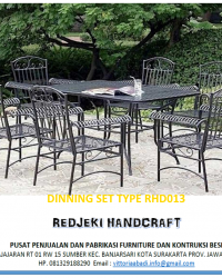 Dinning Set Type RHD013
