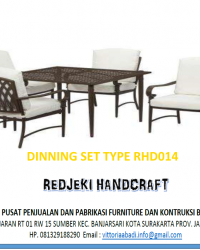 Dinning Set Type RHD014