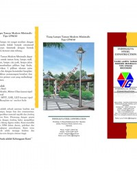 Tiang Lampu Taman Modern Minimalis CP8030