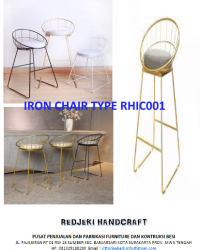 Iron Chair Cafe Type RHIC001