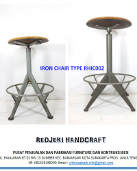 Iron Chair Cafe Type RHIC002