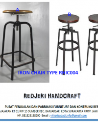 Iron Chair Cafe Type RHIC004