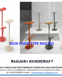 Iron Chair Cafe Type RHIC005