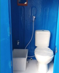Portable Toilet-WC Portable Lengkap Dengan accessories Di Dalam Nya