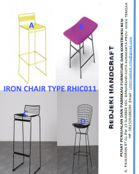 Iron Chair Cafe Type RHIC011