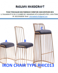 Iron Chair Cafe Type RHIC013