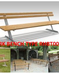 Park Bench / Bangku Taman Type RHBT001