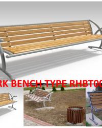 Park Bench / Bangku Taman Type RHBT002