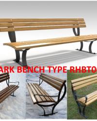 Park Bench / Bangku Taman Type RHBT003