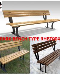 Park Bench / Bangku Taman Type RHBT004