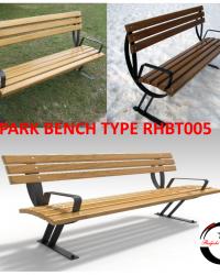 Park Bench / Bangku Taman Type RHBT005
