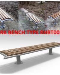 Park Bench / Bangku Taman Type RHBT008
