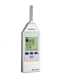 CESVA SC-102 PORTABLE INTEGRATING SOUND LEVEL METER || ALAT UKUR KEBISINGAN