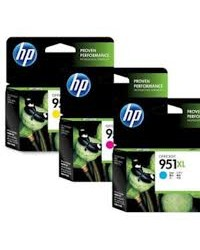 HP 951 XL Cyan Officejet Ink Cartridge [CN046AA] di Surabaya