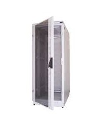 "19"" CLOSE RACK ABBA 42U DEPTH 900MM GLASS DOOR"