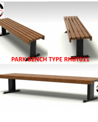 Park Bench / Bangku Taman Type RHBT011