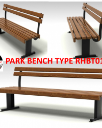 Park Bench / Bangku Taman Type RHBT012