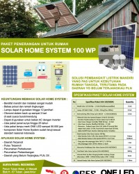 PAKET SOLAR HOME SYSTEM 100 WP