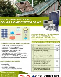 PAKET SOLAR HOME SYSTEM 50 WP