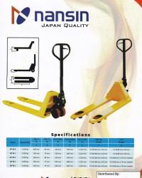JUAL HAND PALLET NANSIN JAPAN