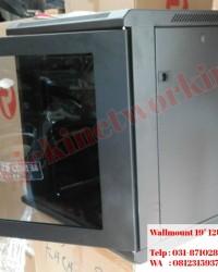 rack Server Surabaya - Wallmount 12U depth 600mm Double Door