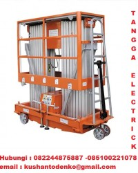 AWP,ARIEAL WORK PLATFORM TANGGA ELECTRIK