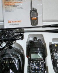 Handy Talky HT Weierwei UV 888 Dualband 10 Watt Mantapss
