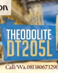 JUAL Theodolite Topcon DT-205L  Japan