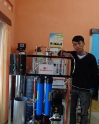 Jual Mesin RO kapasitas 6000 LPH lengkap sistem flushing