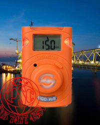 Clip SGD Single Gas Detector Crowcon