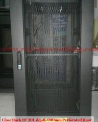 Rack Server Surabaya 20U depth 900mm Perforated Door