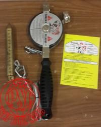 """Lufkin 11290SF590N /2"""" x 25' Atlas Nubian® Oil Gauging Tape"""