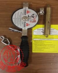 """Lufkin 1293SF590N, 1/2""""x50' Atlas Nubian Oil Gauging Tape"""
