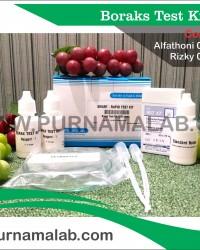 Boraks Test Kit Pangkal Pinang