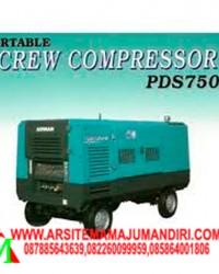 """Air Compressor AIRMAN PDS 750S"""