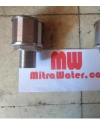 Jual nozzle filter air stainless steel