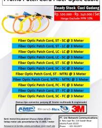 Patch Cord Fiber Optic Baru, Murah & Berkualitas