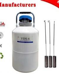 Cina Tangki Nitrogen Cair 6L TIANCHI Produsen