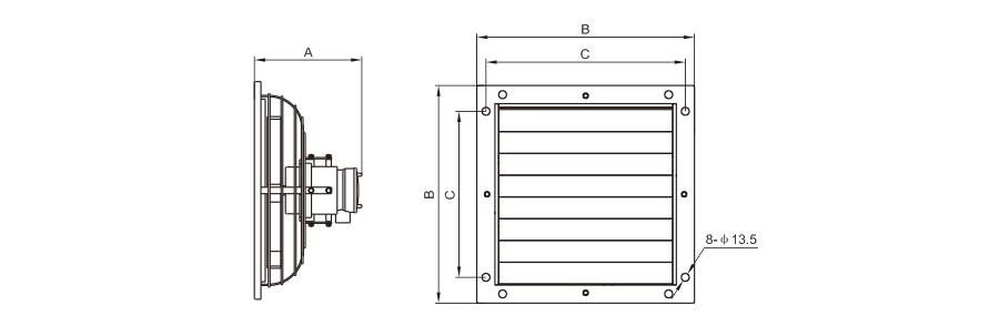BFS-F结构图