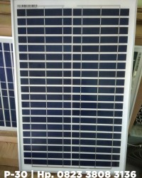 Solar Panel Polycrystalline 30 Wp