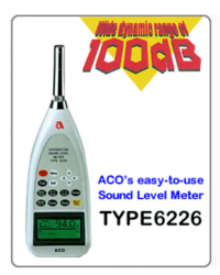 PORTABLE SOUND LEVEL METER TYPE 2 AND CALIBRATOR - 6226